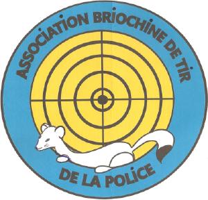Logo du club de tir association briochine de tir police