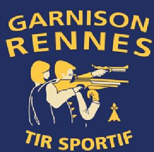 Logo du Club Sportif de la garnison Rennes section Tir Sportif